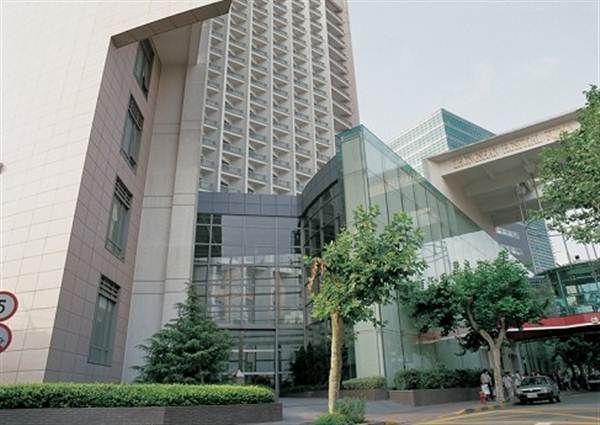 上海中山医院一角