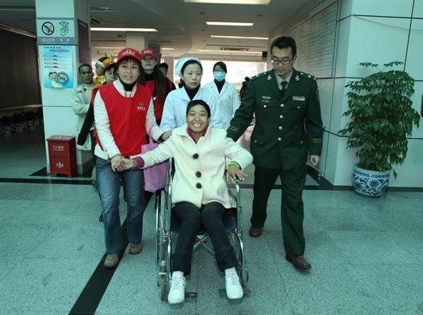 深圳武警边防医院志愿者风采